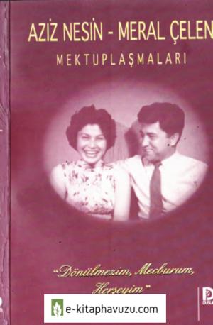 Aziz Nesin - Meral Çelen Mektuplaşmaları - Düşün Yayınları