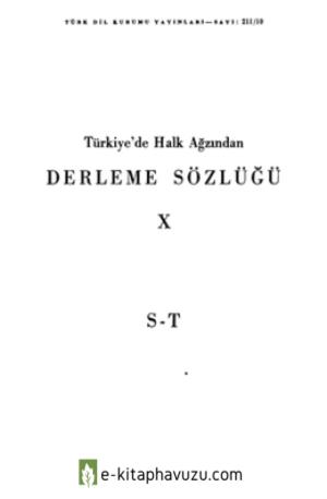 Derleme Sözlüğü 10