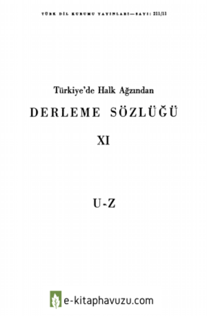 Derleme Sözlüğü 11