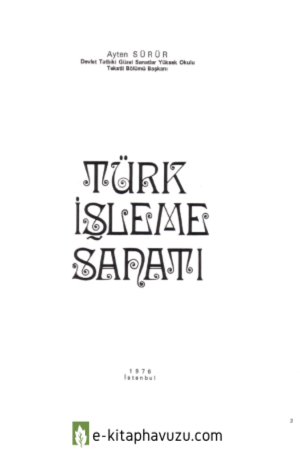 Turk Isleme Sanati