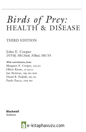 Birds Of Prey - Health And Disease
