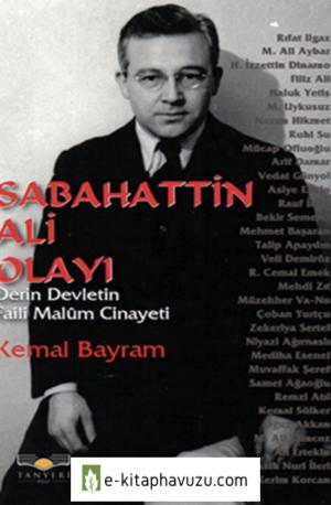 Kemal Bayram - Sabahattin Ali Olayı kiabı indir