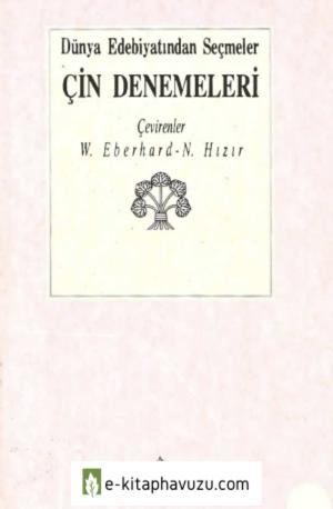 Wolfram Eberhard - Çin Denemeleri
