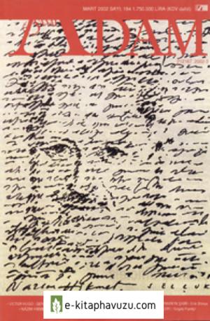 Adam Aylık Sanat Dergisi - Sayı 194 - Mart 2002 - Nazım Hikmet Sayısı-Cs