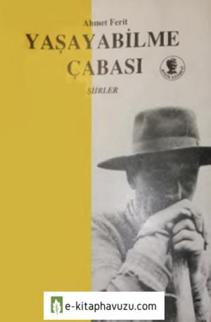 Ahmet Ferit - Yaşama Çabası - Aydın Kitabevi