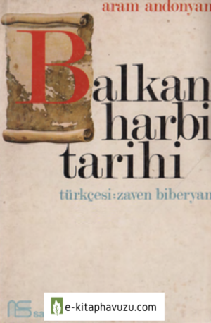 Aram Andonyan - Balkan Harbi Tarihi kiabı indir