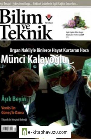 Bilim Ve Teknik Dergisi 534. Sayı - Mayıs 2012