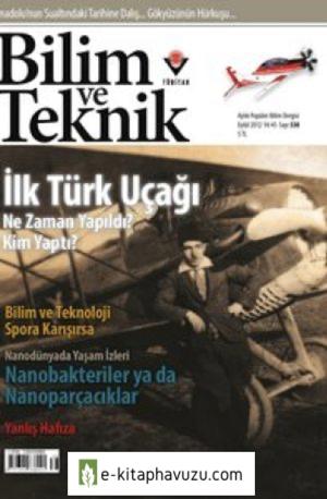 Bilim Ve Teknik Dergisi 538. Sayı - Eylül 2012