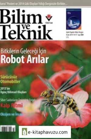 Bilim Ve Teknik Dergisi 554. Sayı - Ocak 2014