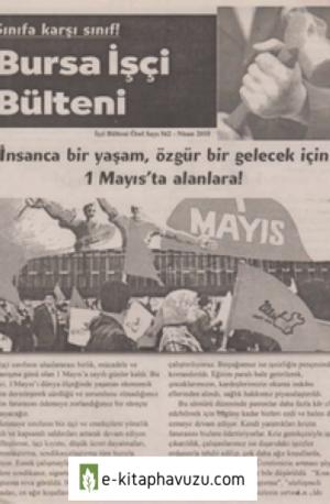 Bursa İşçi Bülteni İşçi Bülteni Özel Sayı 562 Nisan 2010
