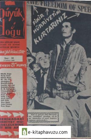 Büyük Doğu - 1. Cilt 36. Sayı 5 Temmuz 1946