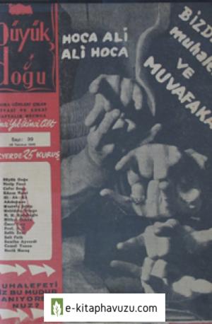 Büyük Doğu - 1. Cilt 39. Sayı 26 Temmuz 1946