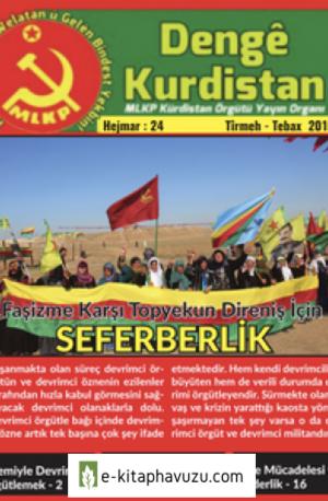 Denge Kurdistan Sayı 24 Temmuz-Ağustos 2017