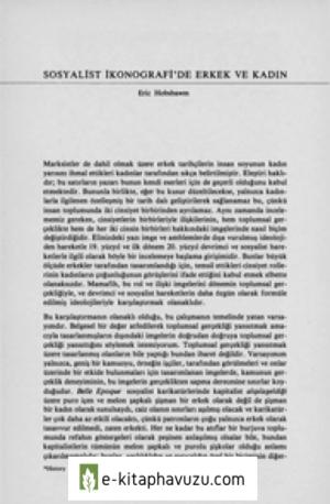 Eric J. Hobsbawm - Sosyalist İkonografi'de Erkek Ve Kadın
