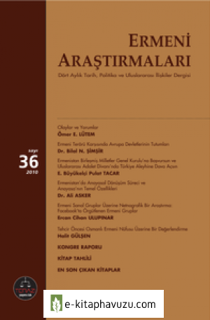 Ermeni-Arastirmalari-Sayi-36