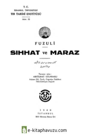 Fuzuli - Sıhhat Ve Maraz