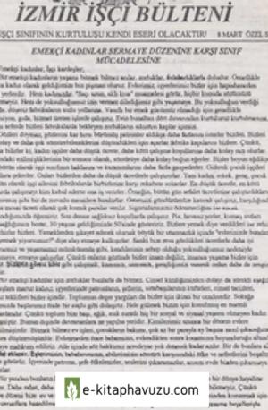 İzmir İşçi Bülteni 8 Mart Özel Sayısı