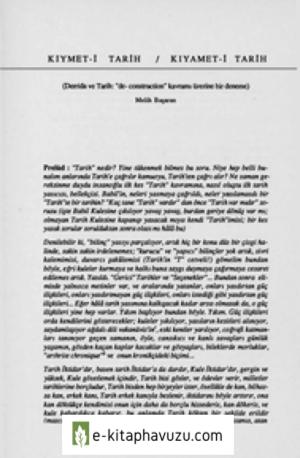Kiymeti Tarih Kiyameti Tarih - Melih Basaran