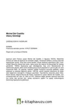 Michel Del Castillo - Utanc Gomlegi