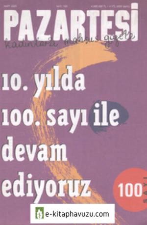 Pazartesi Dergisi - Sayı 100