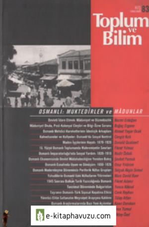 Toplum Ve Bilim Sayı 83 (1999 Kış)