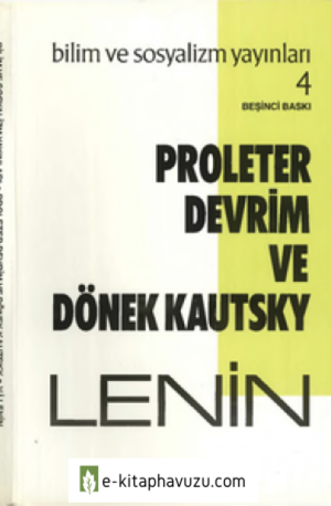 V. I. Lenin - Proleter Devrim Ve Dönek Kautsky